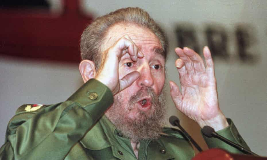 Fidel Castro: 'We have to stick to the facts and, simply put, the socialist camp has collapsed,' he said in 1991.