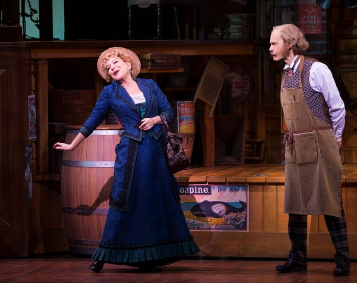 Hello, Dolly! review – Bette Midler is irresistible in a riotous delight    Stage   The Guardian