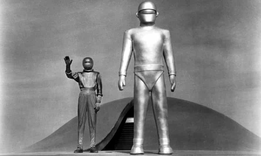 Sign from space … The Day the Earth Stood Still (1951).