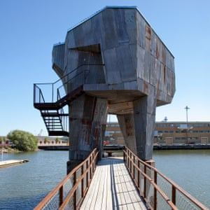 THE SAUNA IN FRIHAMNEN, GOTHENBURG.