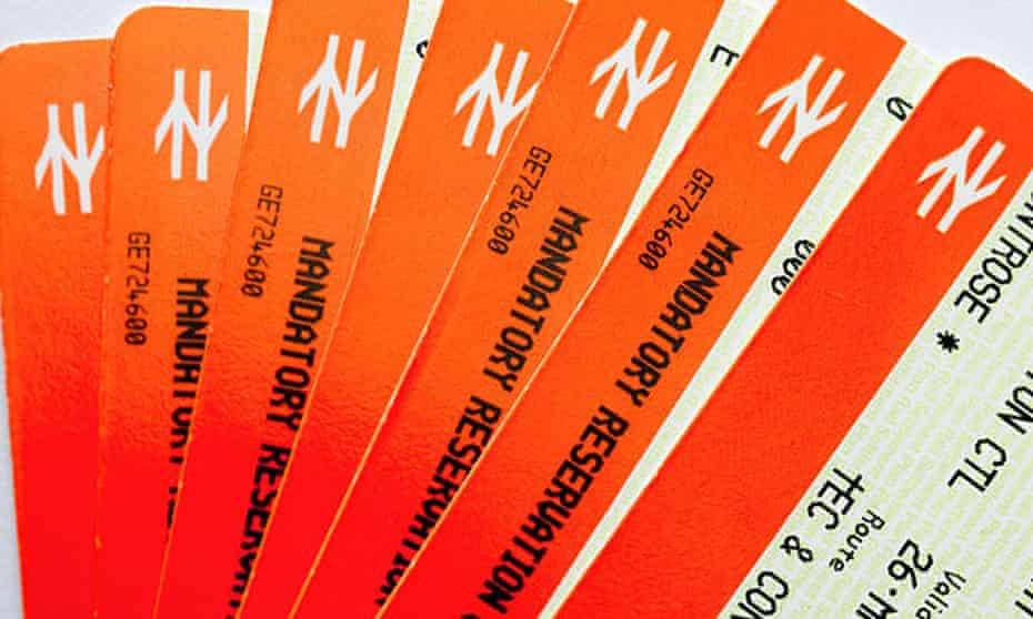 British Railways Travel tickets railcard