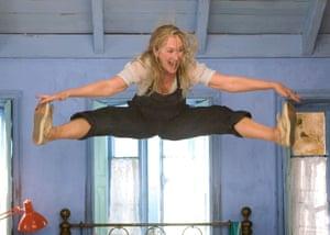 Meryl Streep in Lloyd's film version of Mamma Mia!