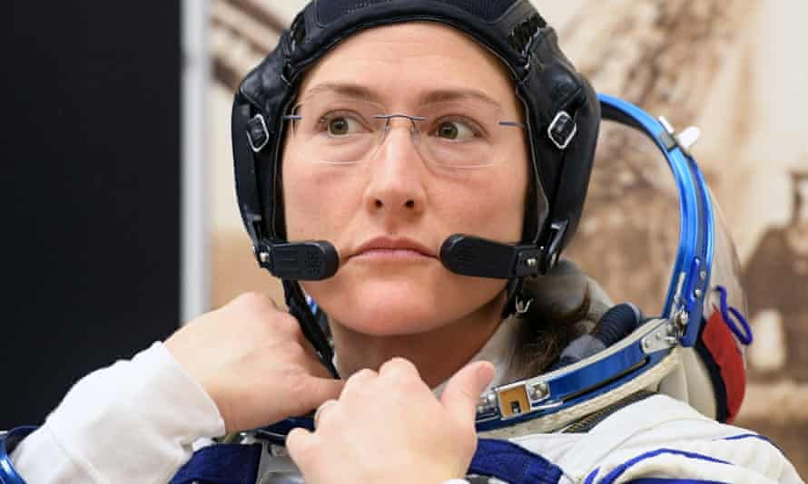 Christina Koch was one of the astronauts due to take part. Only 11% of people who have been to space are women.