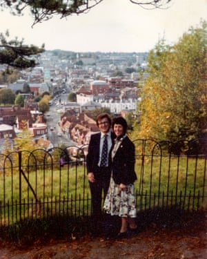 Peter and Anne Bray a few days after they got engaged in 1981.