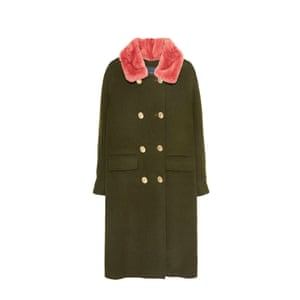 Khaki with pink collar, £250, uterque.com.