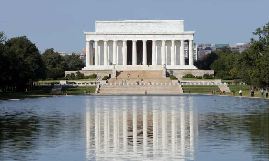 The Lincoln Memorial is among the areas out of bounds to the Women's March on Washington.