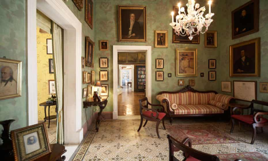 The Green Room at Casa Rocca Piccola.