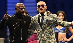 Conor McGregor and Floyd Mayweather have been cordial since their fight in Las Vegas