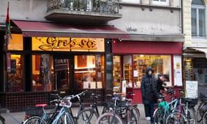 Cafe Gnosa on Lange Reihe Street.