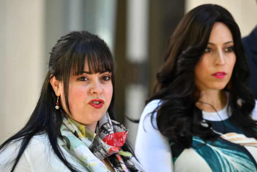 AllDassi Erlich (left) and Nicole Meyer allege school principal Malka Leifer sexually abused them at the Adass Israel School in Melbourne.