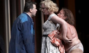 Eva-Maria Westbroek (centre) in Dutch National Opera's 2006 production of Lady Macbeth of Mtsenk