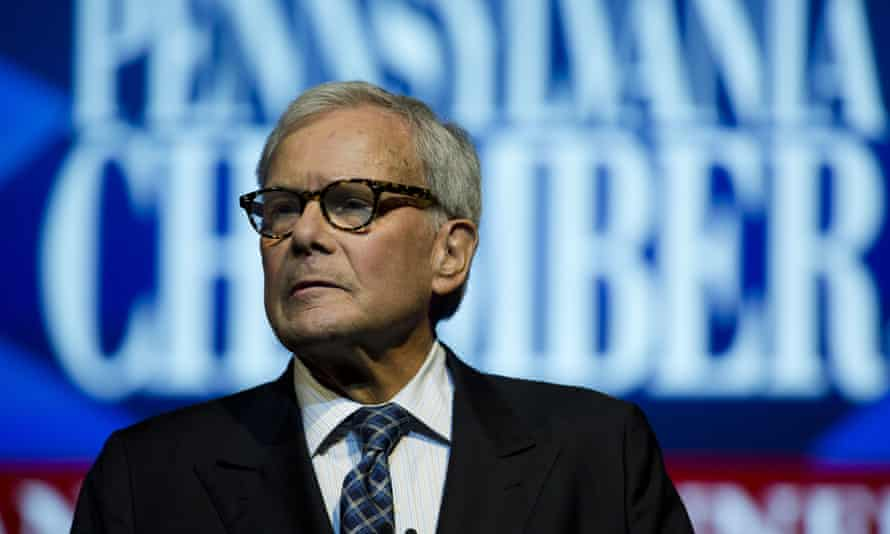 Tom Brokaw was described in the group letter as 'a man of tremendous decency and integrity' who had treated the signatories with fairness and respect.
