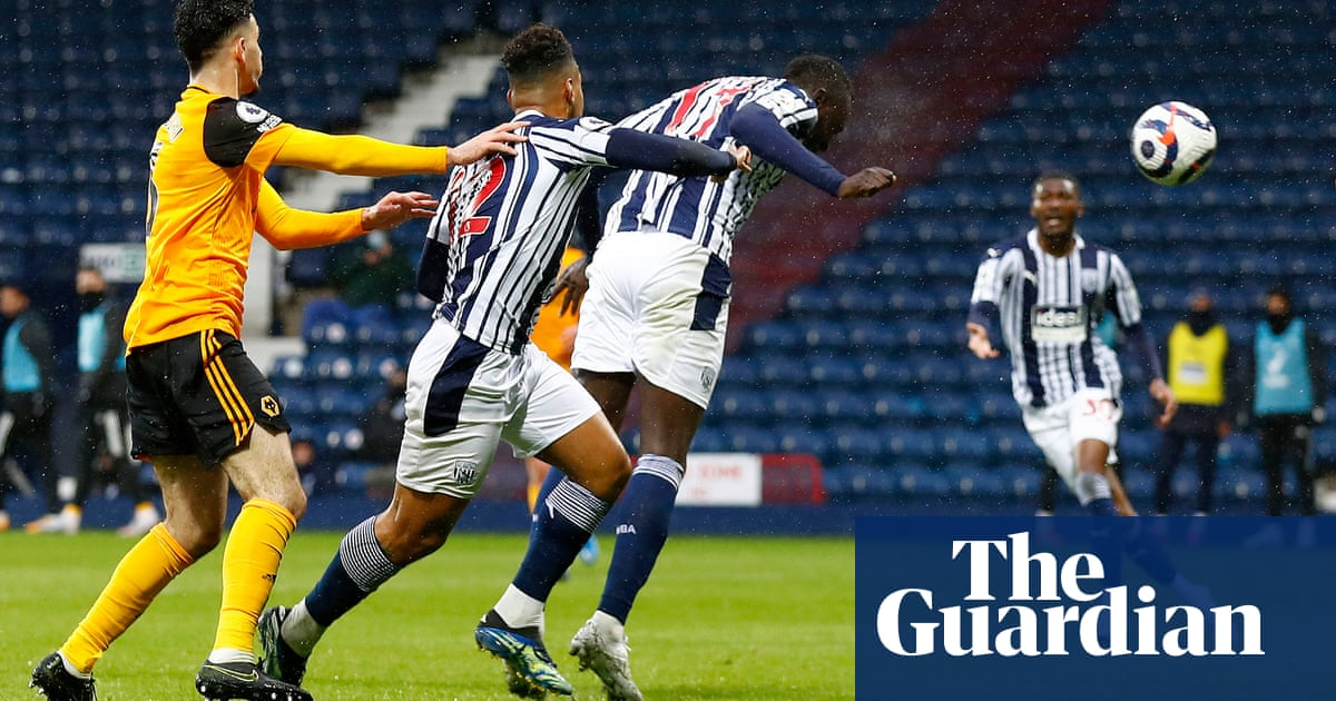 West Brom on the brink despite Mbaye Diagne saving point against Wolves