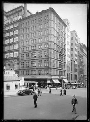 Hotel Australia, Martin Place and Castlereagh Street