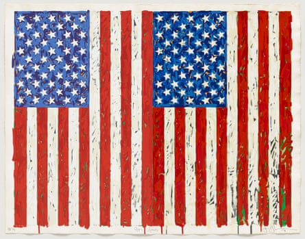 'World-weary and fractured': Jasper Johns' Flags I (1973)