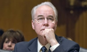 Tom Price, Donald Trump's nominee to lead the health department.