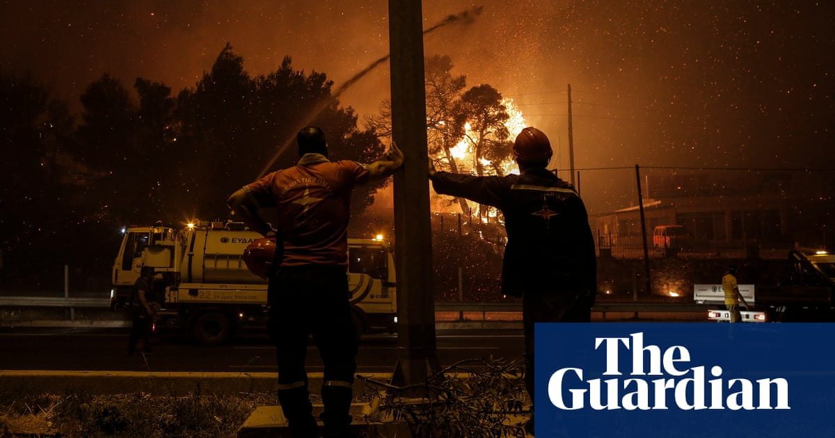 Last month was worst July for wildfires since 2003, say scientists