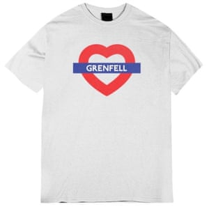 Grenfell, £10, love4.london (100% goes to charity)