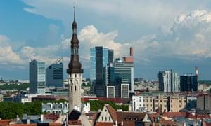 Tallinn, where Warda's parents were arrested
