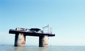 The Principality of Sealand, off the Essex coast.