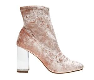 Pink boots £39.99, asos.com