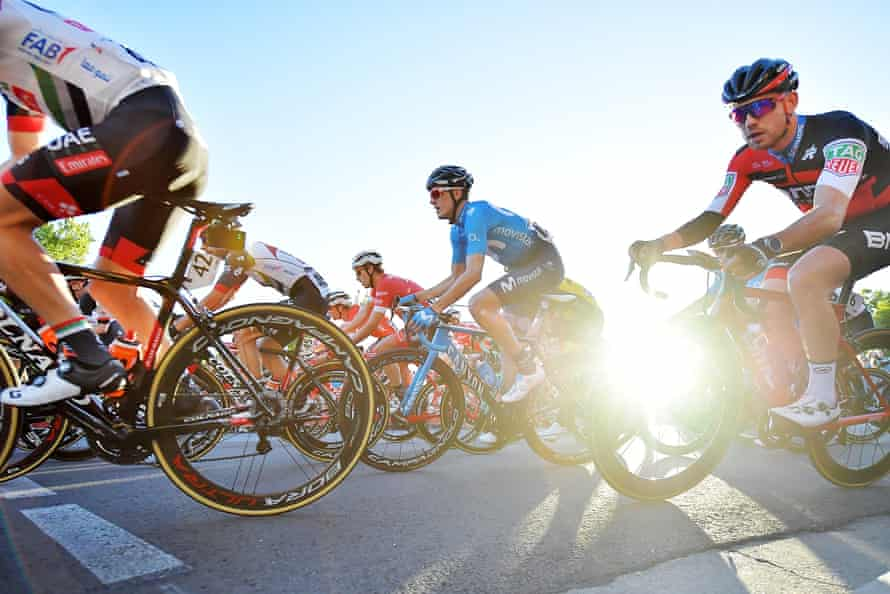 The Tour Down Under presents a positive image of international cycling's top tier but the financial reality is not so bright