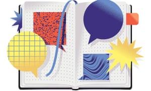 Illustration of journal
