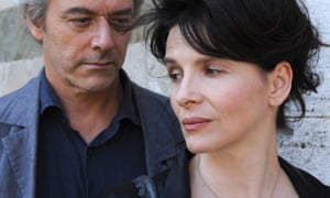 Juliette Binoche in Abbas Kiarostami's Certified Copy.