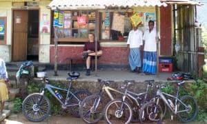 Tea Break whilst Mountain Biking in the Western Ghats