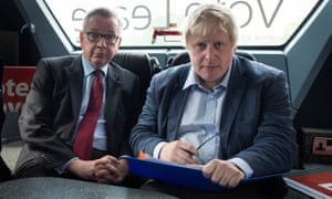 The constituencies of both the Leave campaign's figureheads, Michael Gove and Boris Johnson, have changed sides to back Remain, polling shows.