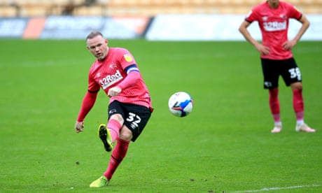 Championship roundup: Rooney strikes late as Norwich rue Pukki penalty slip