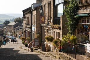 The Yorkshire village of Haworth, home to the Brontë family