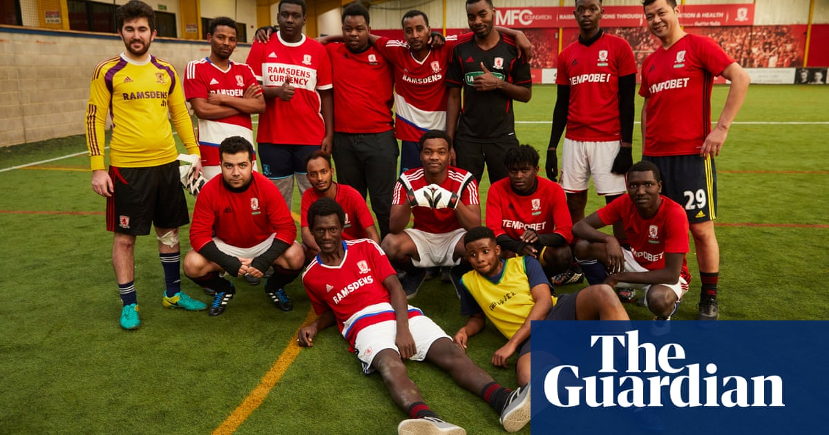 Middlesbrough give refugees football kit and feeling of