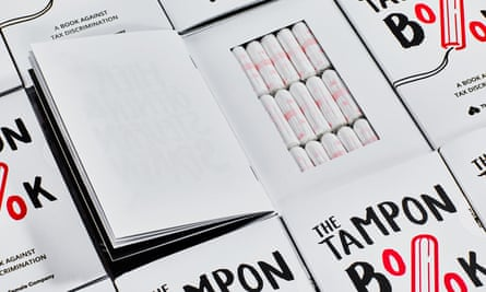 Inside The Tampon Book.