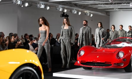 'If you get into a racing car, it's sexy,' said Ralph Lauren