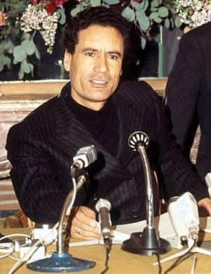 Muammar Gaddafi in Paris, 1973