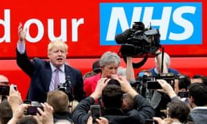 Boris Johnson during the EU referendum campaign