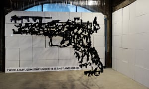 Art exhibit speaks Truth to Power in the shadow of the Democratic