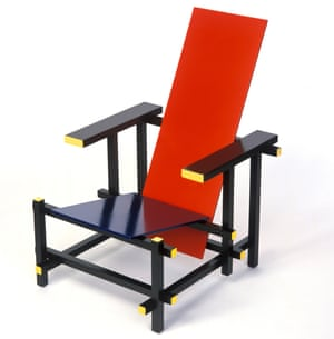 Rietveld's Red Blue Chair is surprisingly comfortable.