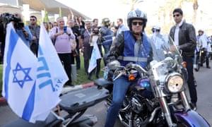 Blue and White party leader Benny Gantz