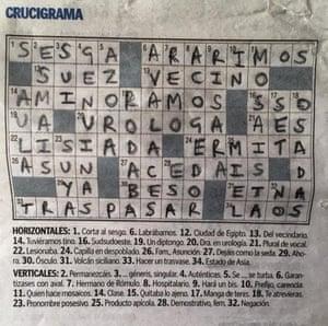 Crossword roundup: where are the good Spanish crosswords