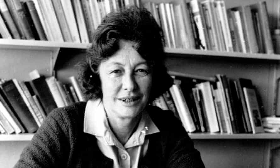 Thea Astley photographed at Macquarie University in 1979.