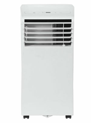 The Challenge 7k air conditioner, £350.