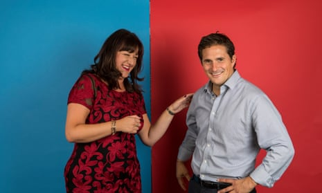 Labour MP Ruth Smeeth & Conservative MP Johnny Mercer