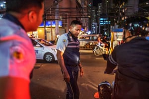 Rodel, 45, Jhen's husband, works as a traffic warden in Manila, Philippines.