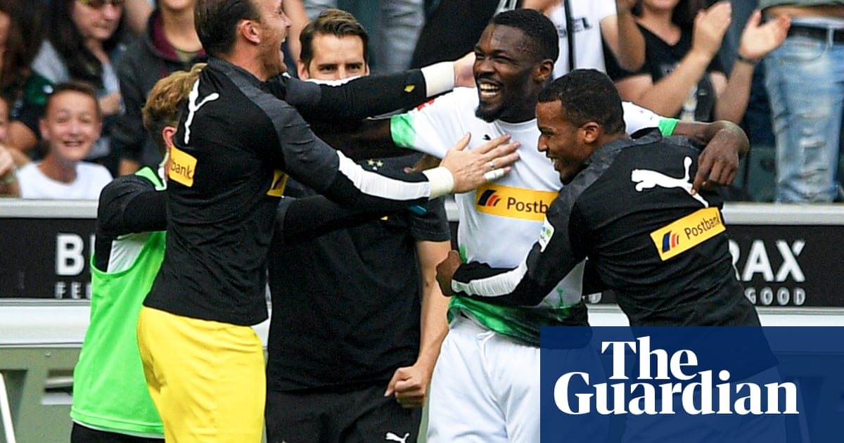 Marcus Thuram's derby double lifts Gladbach from European humiliation | Andy Brassell