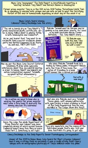 News Corp love affair with Tony Abbott
