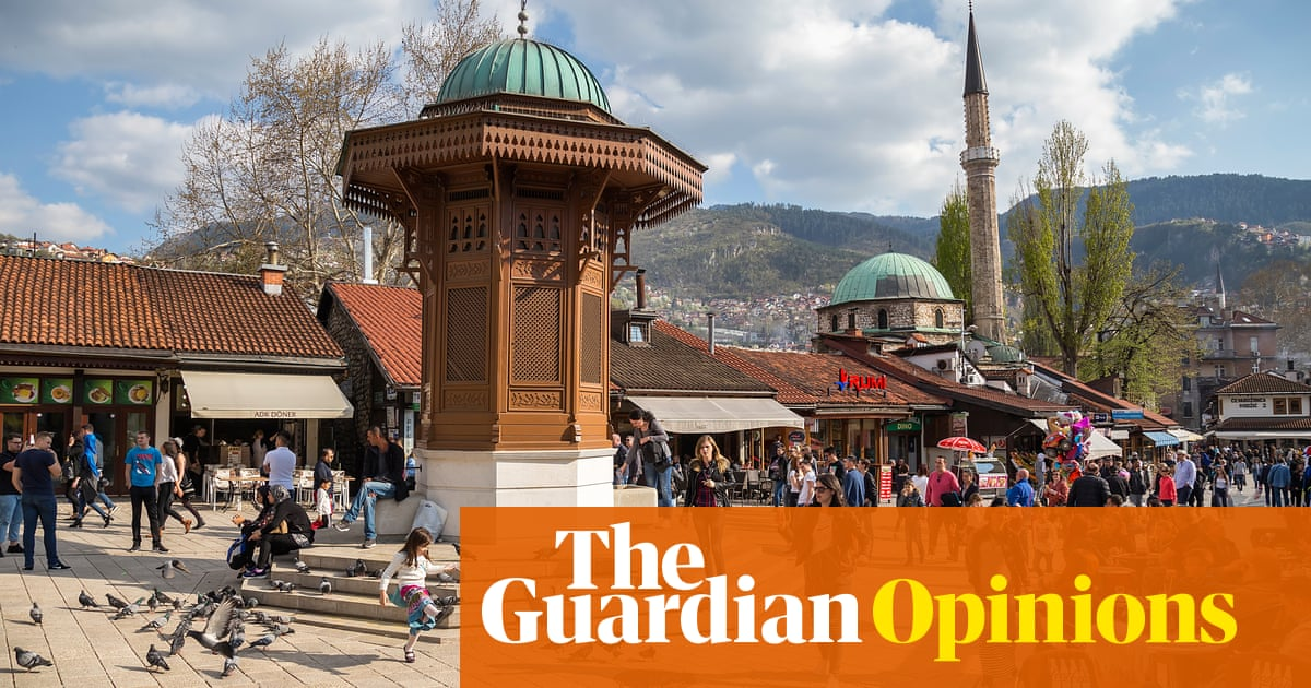 Bosnia is at risk of becoming a failed state. Does the EU want that on its doorstep? | Boriša Falatar