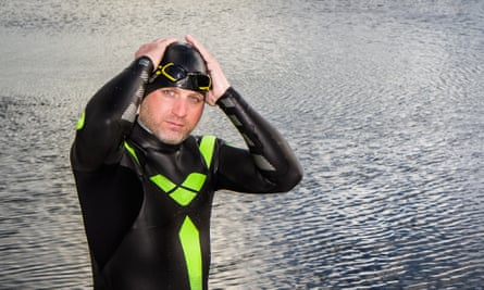 Ben Hooper, who hopes to realise his childhood dream to swim across an ocean.