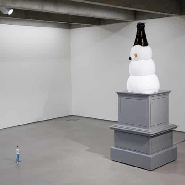 Klaus Weber's Nonument to contemporary Edinburgh in the complex's Hillside purpose-built exhibition space.
